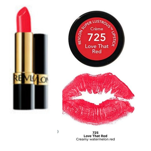 Revlon Other - Pck of 2 Super Lustrous Lipstick, Love That Red